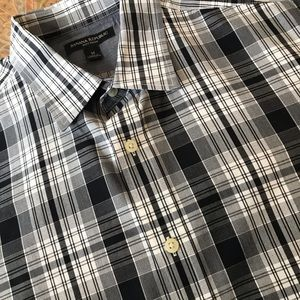 Banana Republic plaid long sleeved shirt